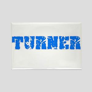 Turner Blue Bold Design Magnets