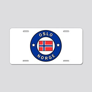 Oslo Norge Aluminum License Plate