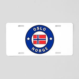 Oslo Norge Aluminum License Plate