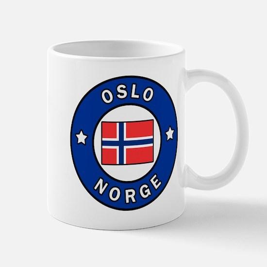 Oslo Norge Mugs
