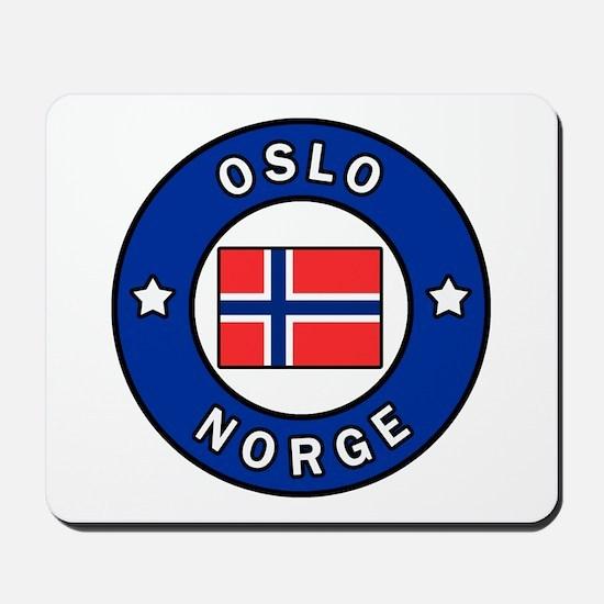Oslo Norge Mousepad