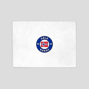 Oslo Norge 5'x7'Area Rug