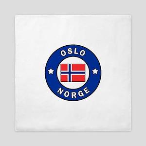 Oslo Norge Queen Duvet