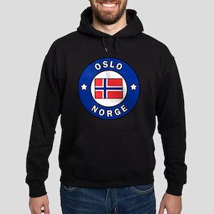 Oslo Norge Hoodie (dark)