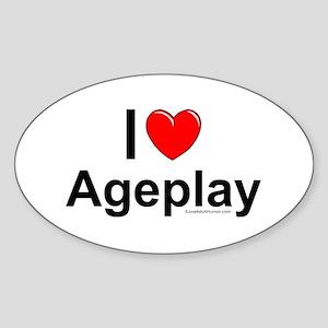 Ageplay Sticker (Oval)