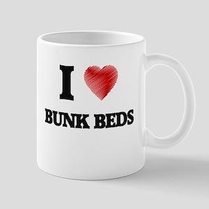 I Love BUNK BEDS Mugs