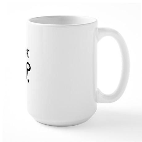 Can I get an Amen? Large Mug