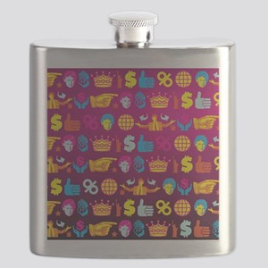 ombre donald trump Flask