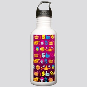 ombre donald trump Stainless Water Bottle 1.0L