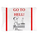 funny sports and gaming joke Pillow Case