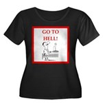 funny sports and gaming joke Plus Size T-Shirt