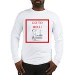 funny sports and gaming joke Long Sleeve T-Shirt