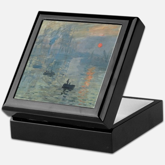 Monet Impression Sunrise Keepsake Box