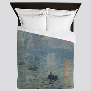 Monet Impression Sunrise Queen Duvet
