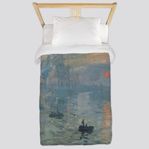 Monet Impression Sunrise Twin Duvet