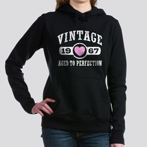 Vintage 1967 Women's Hooded Sweatshirt
