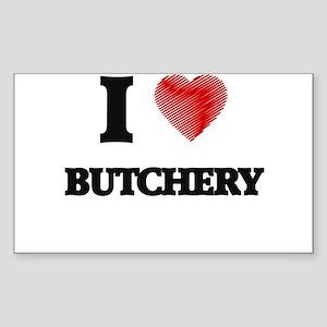 I Love BUTCHERY Sticker