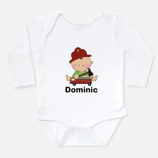Dominic's Long Sleeve Infant Bodysuit
