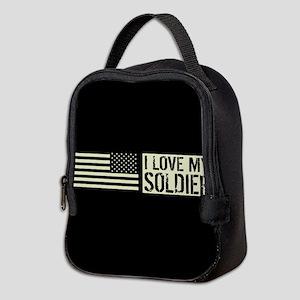U.S. Army: I Love My Soldier (B Neoprene Lunch Bag