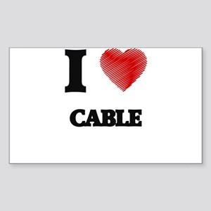 cable Sticker