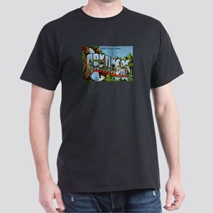 Arkansas Postcard Dark T-Shirt