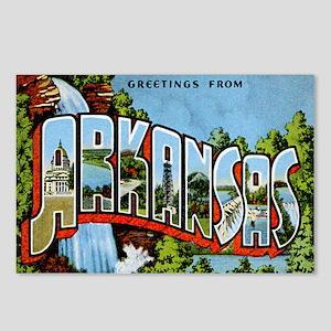 Arkansas Postcard Postcards (Package of 8)