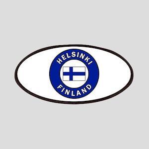 Helsinki Finland Patch