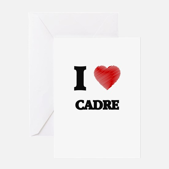 cadre Greeting Cards