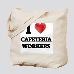 Cafeteria Worker Tote Bag