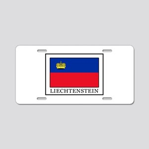 Liechtenstein Aluminum License Plate