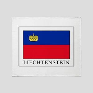 Liechtenstein Throw Blanket