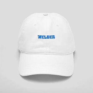 Welder Blue Bold Design Cap