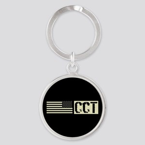 U.S. Air Force: Combat Control Team Round Keychain