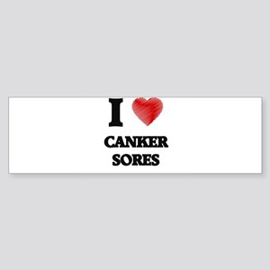 canker sore Bumper Sticker