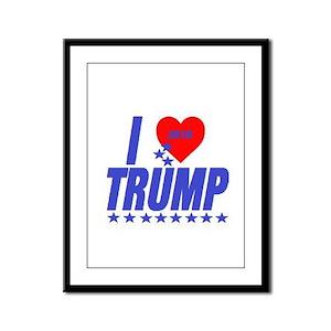 Donald Trump Framed Panel Print