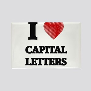capital letter Magnets