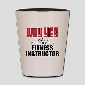 Fitness Instructor Shot Glass