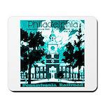 Visit Philadelphia on the PRR Green Mousepad