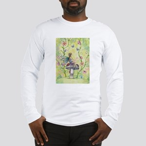 A Happy Place Flower Fairy and Ladybug Long Sleeve