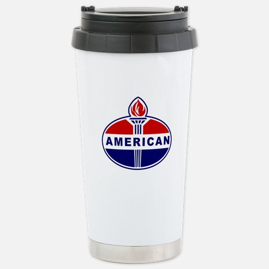 American Oil Stainless Steel Travel Mug