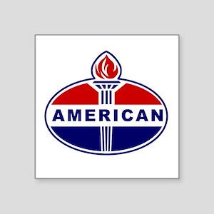 American Oil Sticker