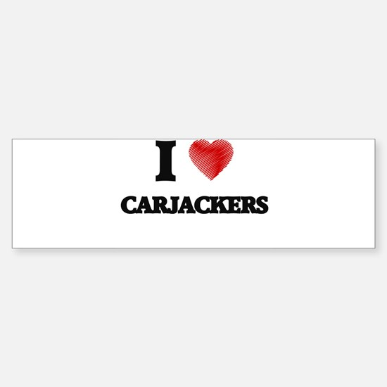 carjacker Bumper Bumper Bumper Sticker