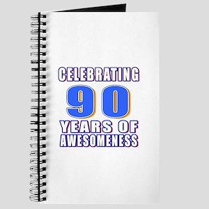 Celebrating 90 Years Of Awesomeness Journal