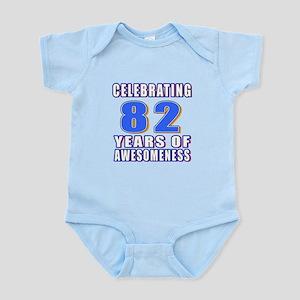 Celebrating 82 Years Of Awesomenes Infant Bodysuit