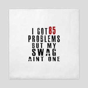 85 Swag Birthday Designs Queen Duvet