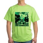 Visit Philadelphia on the PRR Green T-Shirt