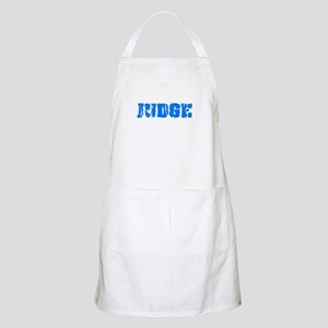 Judge Blue Bold Design Light Apron