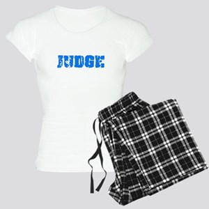 Judge Blue Bold Design Pajamas