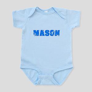 Mason Blue Bold Design Body Suit