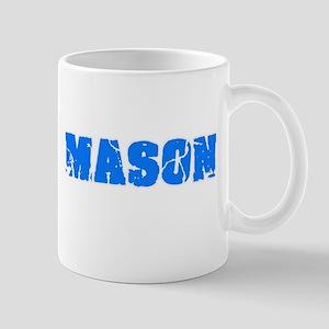 Mason Blue Bold Design Mugs